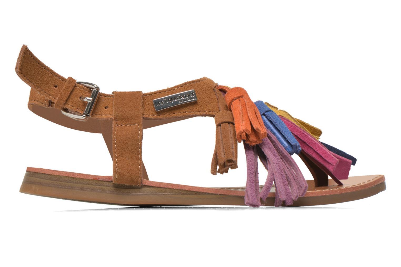 Sandals Les Tropéziennes par M Belarbi Gorby E Brown back view