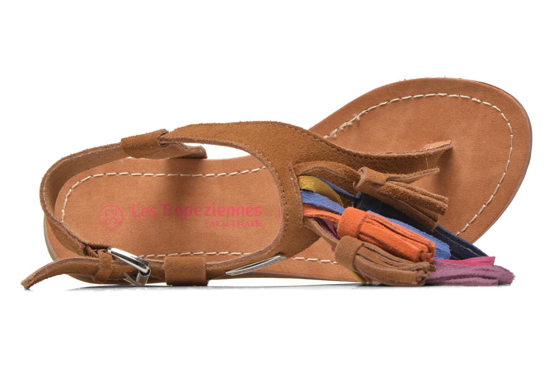 Sandals Les Tropéziennes par M Belarbi Gorby E Brown view from the left