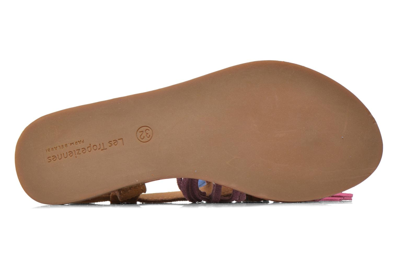 Sandals Les Tropéziennes par M Belarbi Gorby E Brown view from above