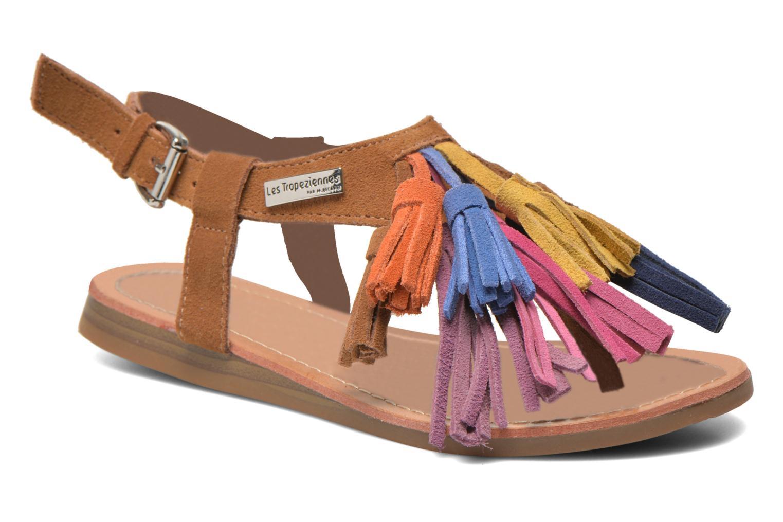 Sandals Les Tropéziennes par M Belarbi Gorby E Brown detailed view/ Pair view