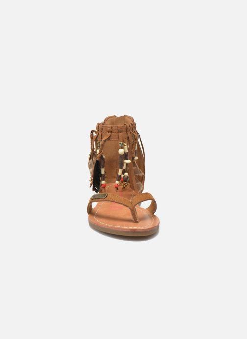 Sandali e scarpe aperte Les Tropéziennes par M Belarbi Gopak E Marrone modello indossato
