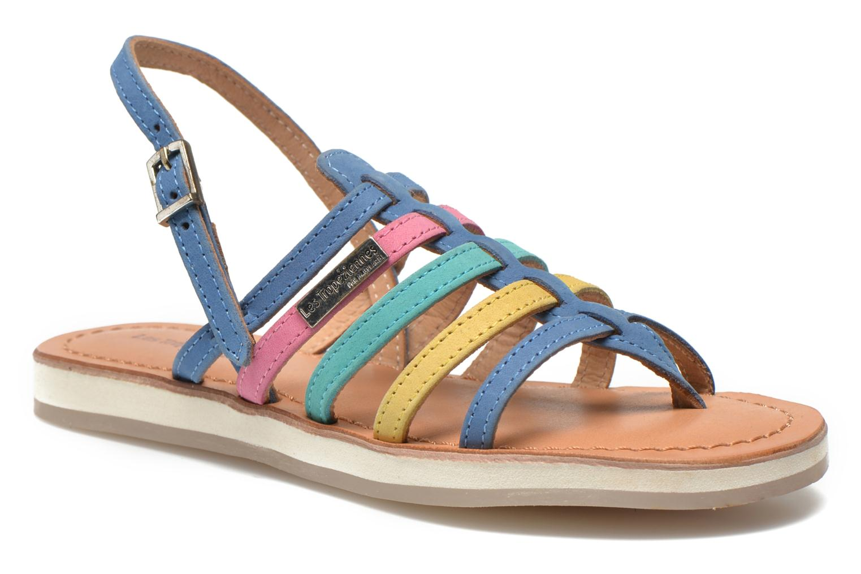 Sandaler Les Tropéziennes par M Belarbi Hippie Multi detaljeret billede af skoene