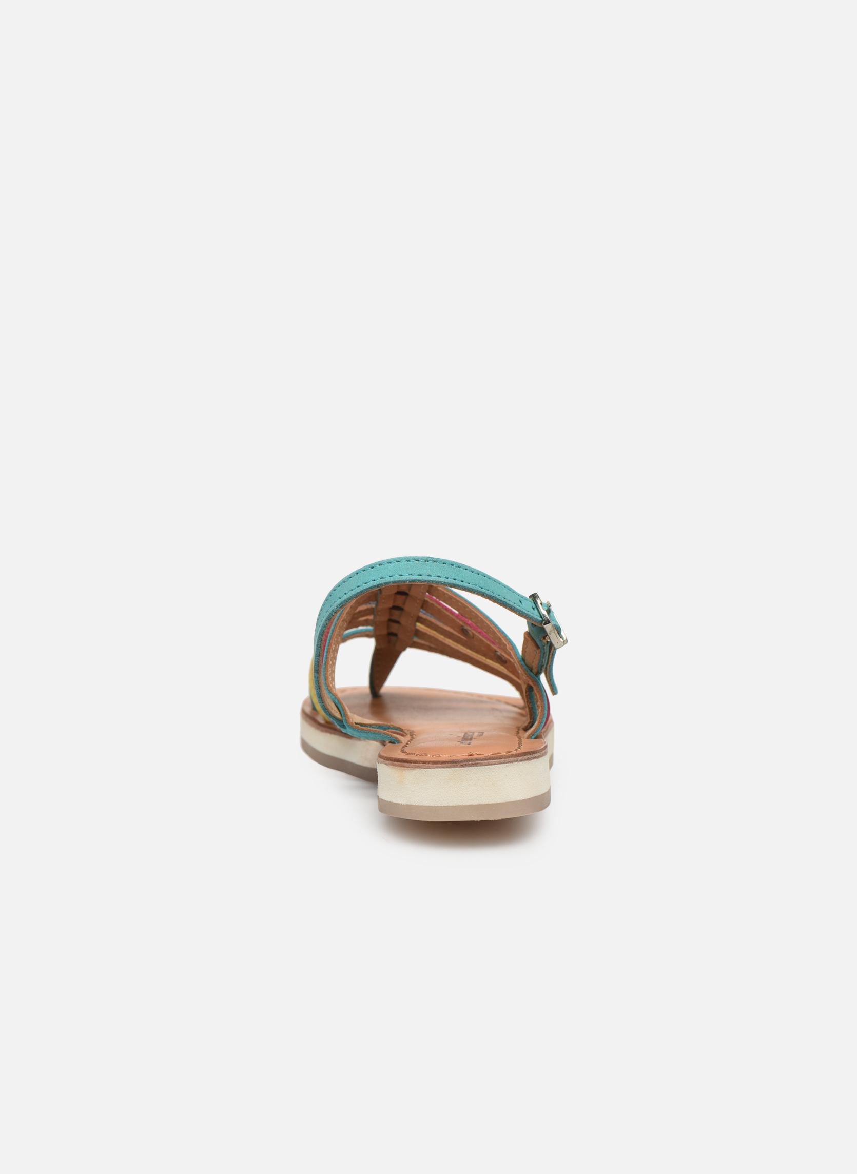 Sandaler Les Tropéziennes par M Belarbi Hippie Blå Se fra højre