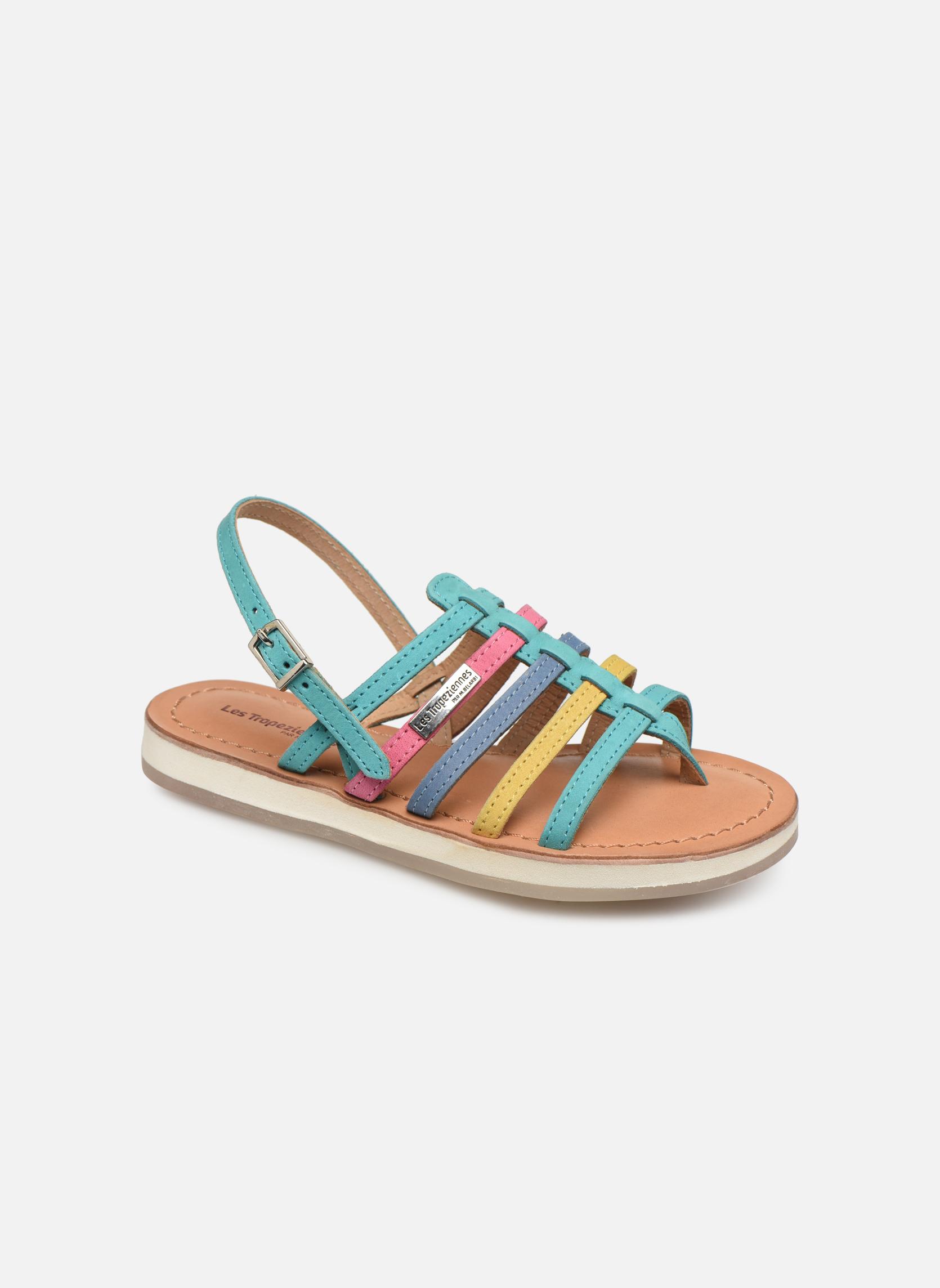 Sandaler Les Tropéziennes par M Belarbi Hippie Blå detaljeret billede af skoene