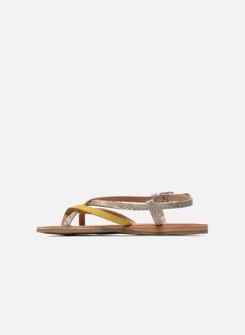 Sandali e scarpe aperte Les Tropéziennes par M Belarbi Bonbon Giallo immagine frontale