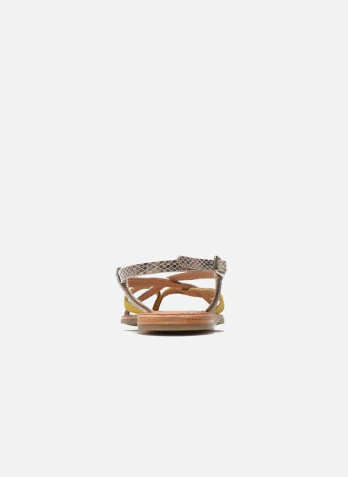 Sandali e scarpe aperte Les Tropéziennes par M Belarbi Bonbon Giallo immagine destra