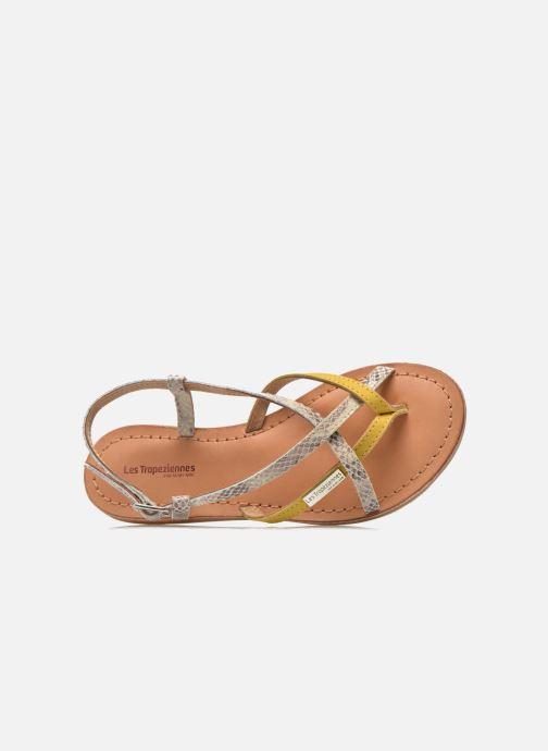 Sandali e scarpe aperte Les Tropéziennes par M Belarbi Bonbon Giallo immagine sinistra