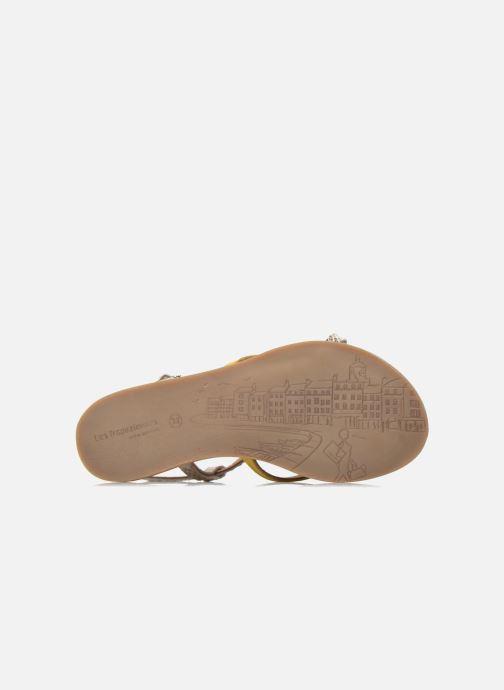 Sandali e scarpe aperte Les Tropéziennes par M Belarbi Bonbon Giallo immagine dall'alto