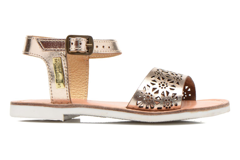 Sandals Les Tropéziennes par M Belarbi Mandy Bronze and Gold back view