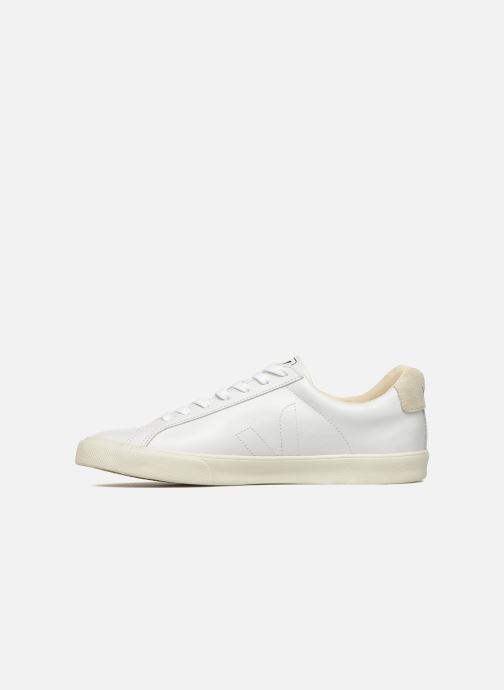 Sneakers Veja Esplar Leather Bianco immagine frontale