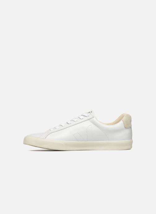 Sneaker Veja Esplar Leather weiß ansicht von vorne