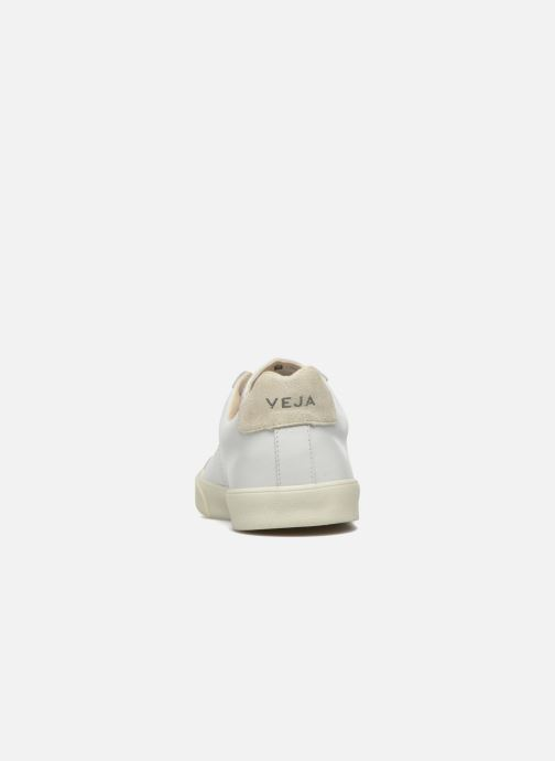 Baskets Veja Esplar Leather Blanc vue droite