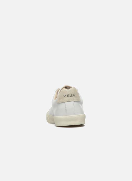 Sneaker Veja Esplar Leather weiß ansicht von rechts