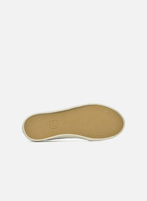 Baskets Veja Esplar Leather Blanc vue haut