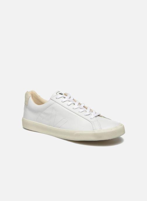 Sneakers Veja Esplar Leather Hvid detaljeret billede af skoene