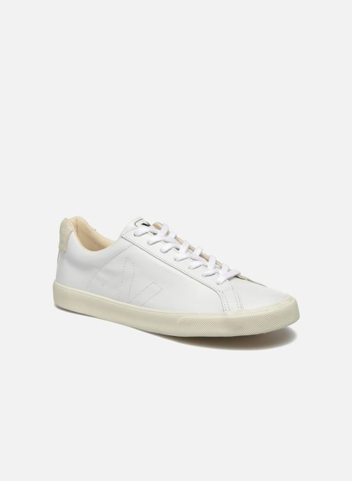 Trainers Veja Esplar Leather White detailed view/ Pair view