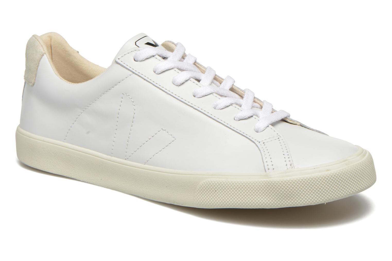 Deportivas Veja Esplar Leather Blanco vista de detalle / par