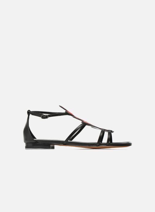 Sandales et nu-pieds Lola Cruz Edmond Multicolore vue derrière