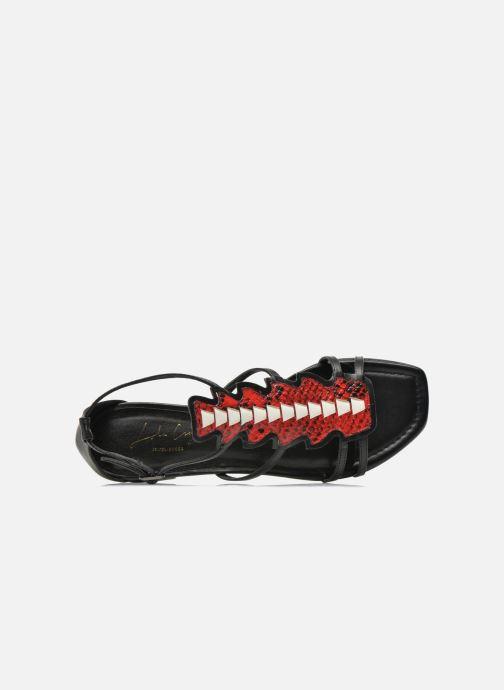 Sandales et nu-pieds Lola Cruz Edmond Multicolore vue gauche
