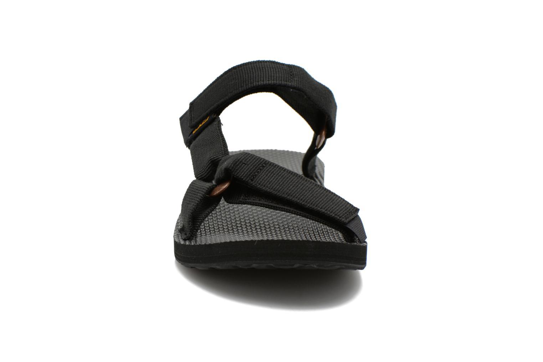 Sandales et nu-pieds Teva Universal Slide Noir vue portées chaussures