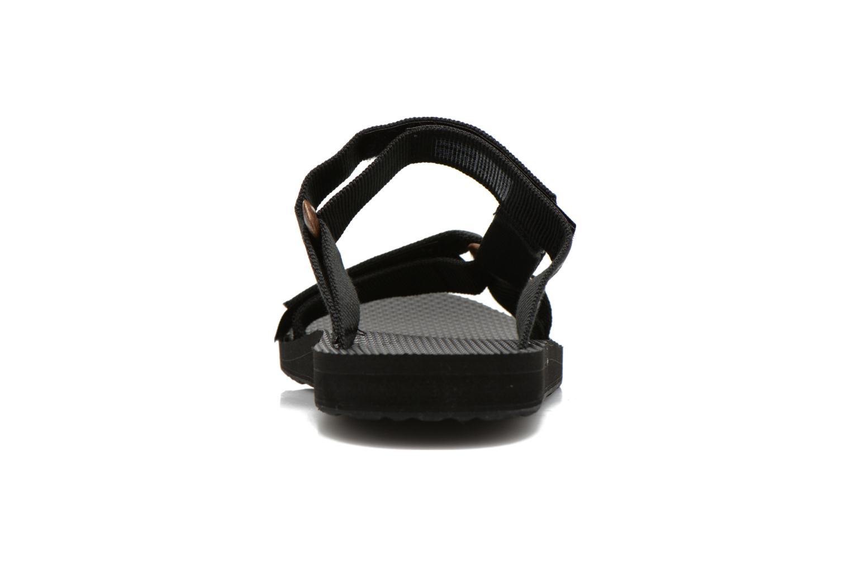 Sandales et nu-pieds Teva Universal Slide Noir vue droite