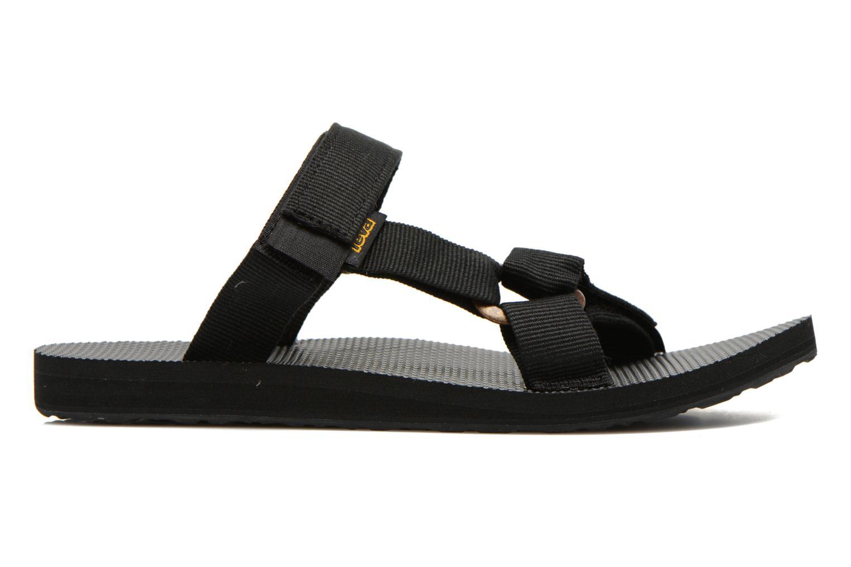 Sandales et nu-pieds Teva Universal Slide Noir vue derrière