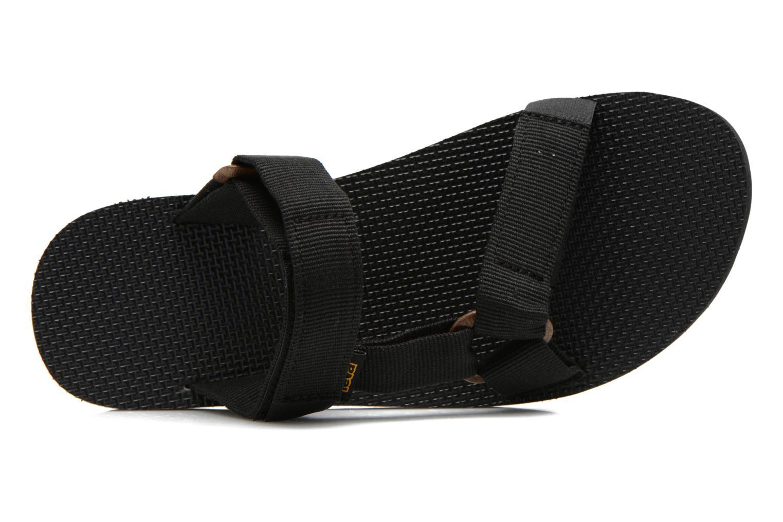 Sandales et nu-pieds Teva Universal Slide Noir vue gauche