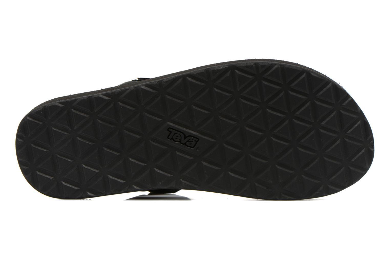 Sandales et nu-pieds Teva Universal Slide Noir vue haut