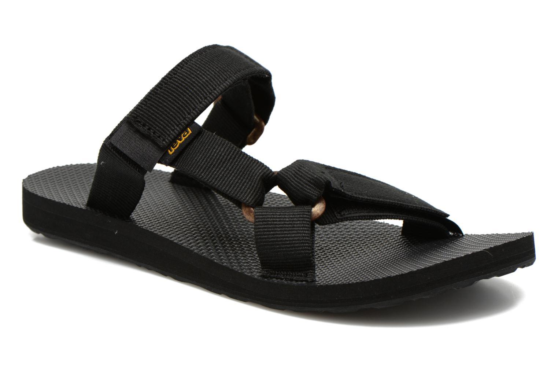 Sandales et nu-pieds Teva Universal Slide Noir vue détail/paire