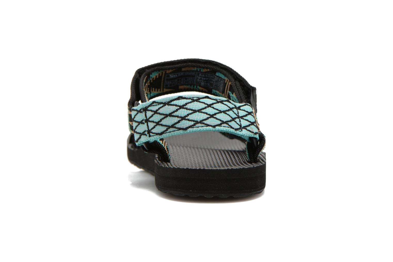 Sandals Teva Original Universal Mashup Black view from the right