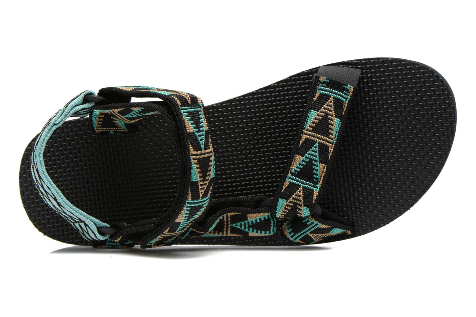 Sandals Teva Original Universal Mashup Black view from the left