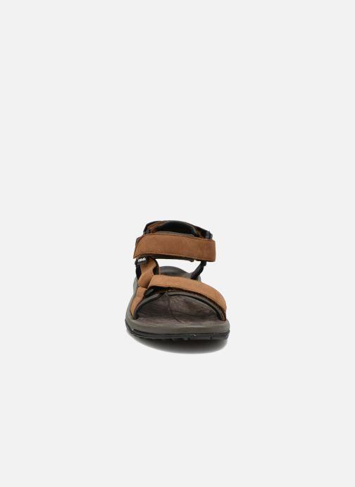 Chaussures de sport Teva Terra Fi Lite Leather Marron vue portées chaussures