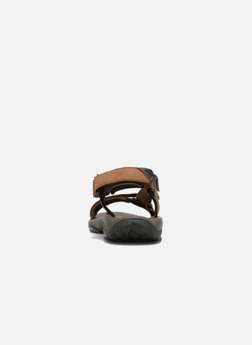 Chaussures de sport Teva Terra Fi Lite Leather Marron vue droite