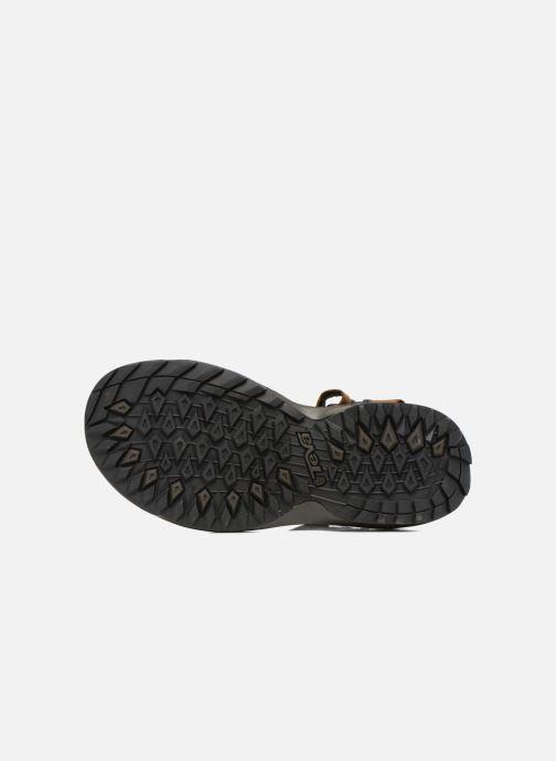 Chaussures de sport Teva Terra Fi Lite Leather Marron vue haut