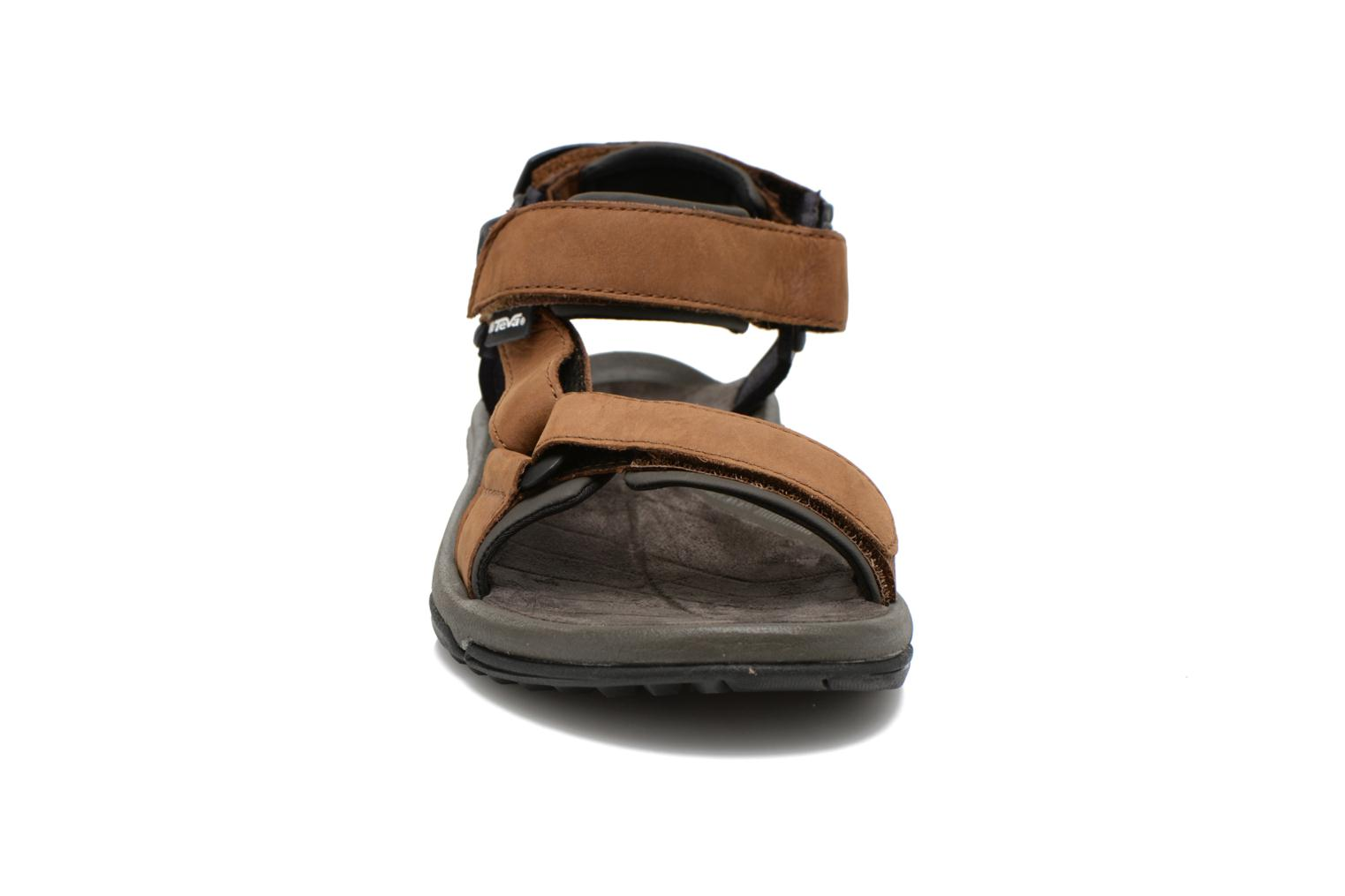 Sport shoes Teva Terra Fi Lite Leather Brown model view