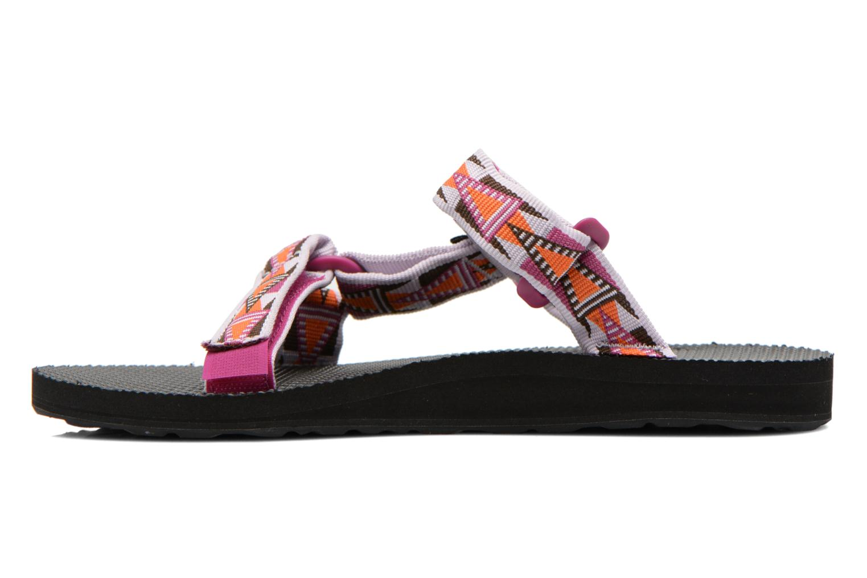 Clogs & Pantoletten Teva Universal Slide W mehrfarbig ansicht von vorne
