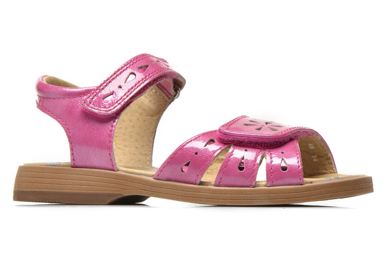 Sandales et nu-pieds Start Rite Honey Suckle Rose vue derrière
