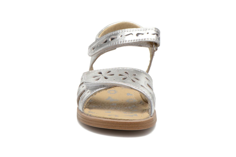 Sandales et nu-pieds Start Rite Honey Suckle Argent vue portées chaussures