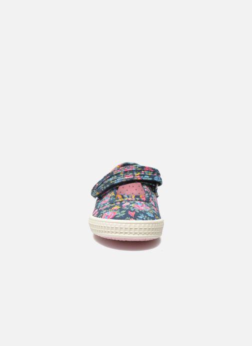 Ballerines Start Rite Posy Multicolore vue portées chaussures