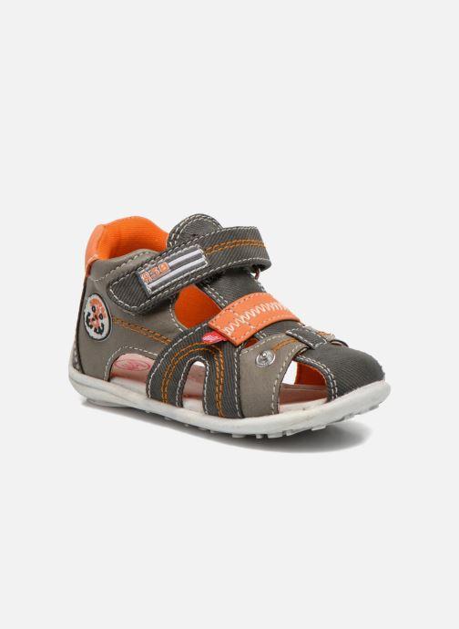 Sandales et nu-pieds NA! Airelle Gris vue détail/paire