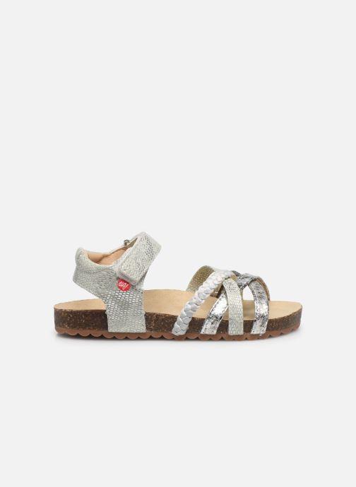 Sandales et nu-pieds NA! Abeille Argent vue derrière