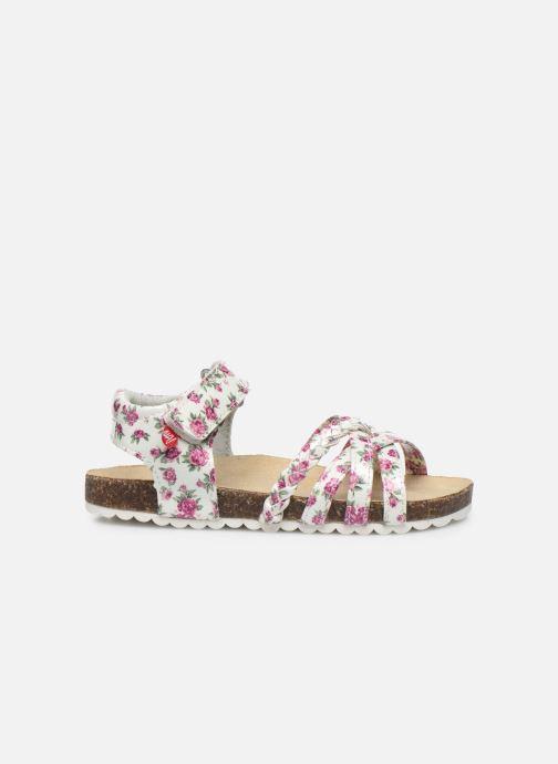 Sandales et nu-pieds NA! Abeille Blanc vue derrière
