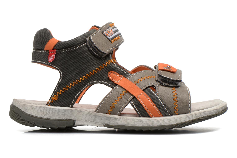 Sandals NA! Abeille Grey back view
