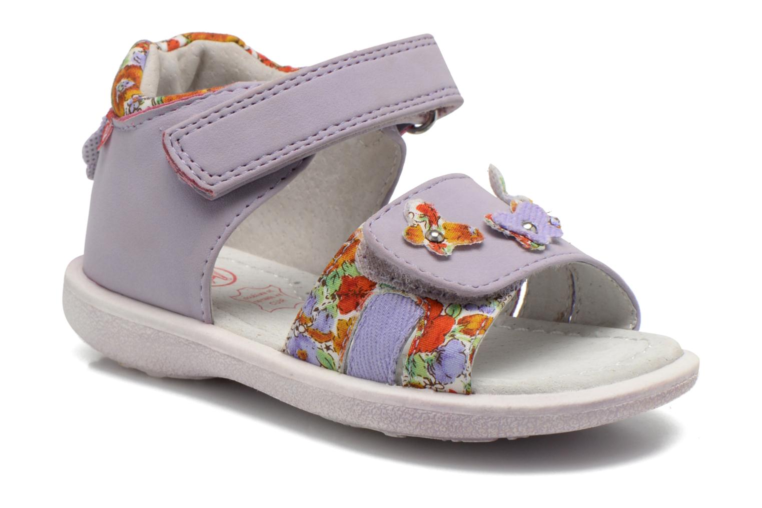 Sandals NA! Artifice Purple detailed view/ Pair view