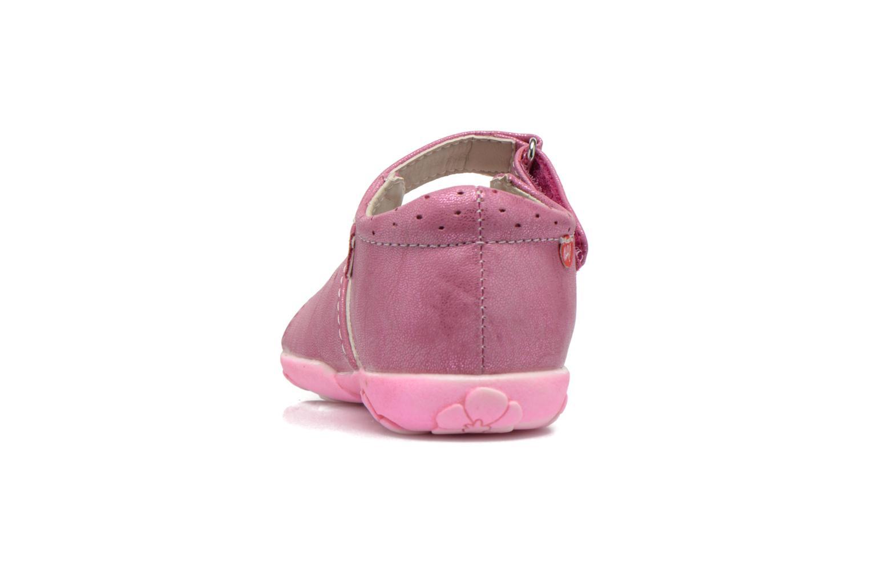 Sandali e scarpe aperte NA! Reine Rosa immagine destra