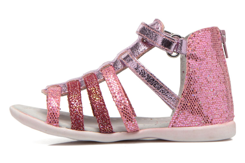 Sandales et nu-pieds NA! Anoa Rose vue face