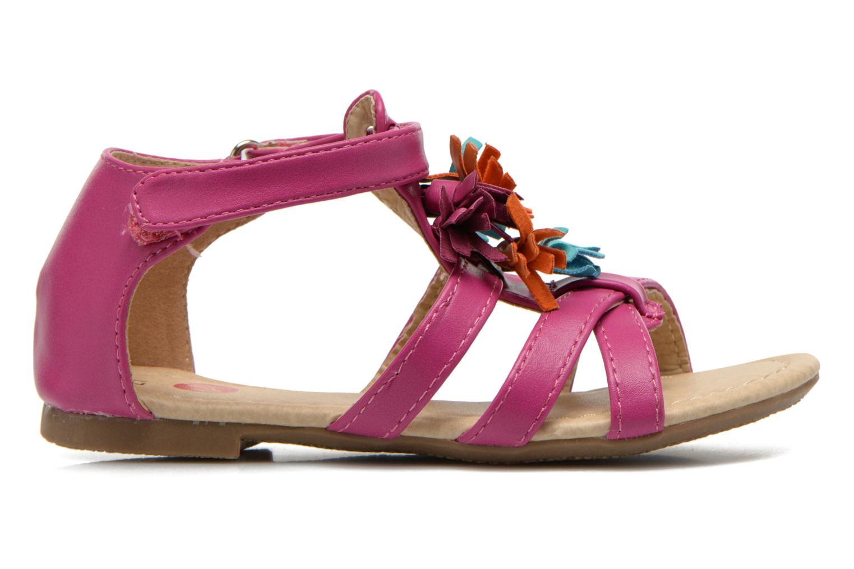 Sandales et nu-pieds NA! Flo Rose vue derrière