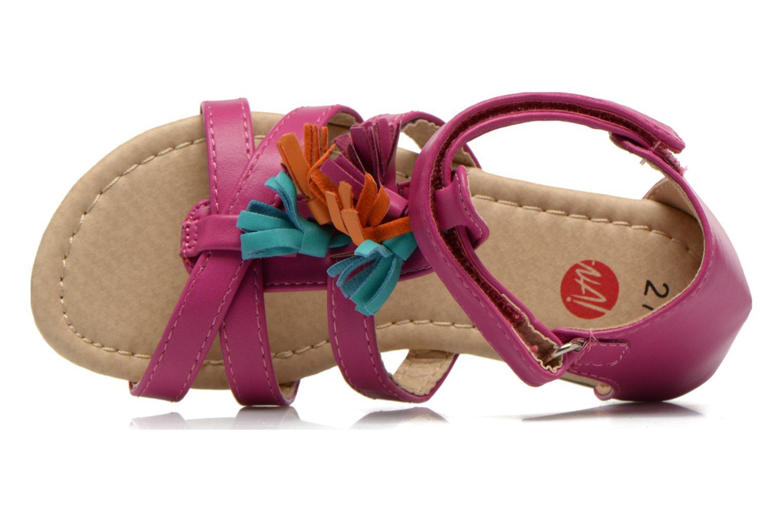 Sandales et nu-pieds NA! Flo Rose vue gauche