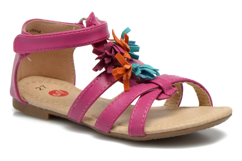 Sandales et nu-pieds NA! Flo Rose vue détail/paire