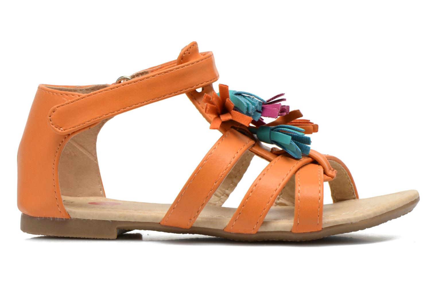 Sandals NA! Flo Orange back view